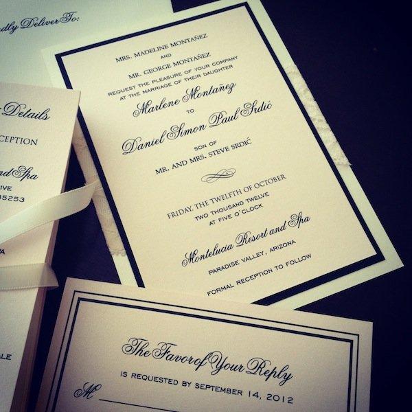 arizona wedding invitations the event essentials