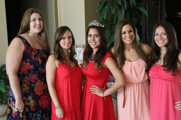 bridal shower party themes fashion