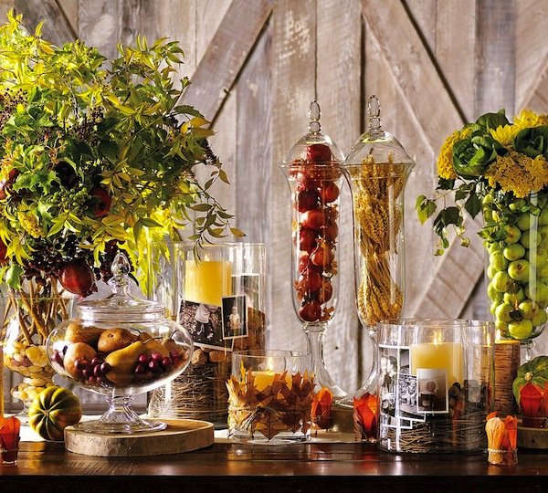 fall tablescape decor wedding ideas