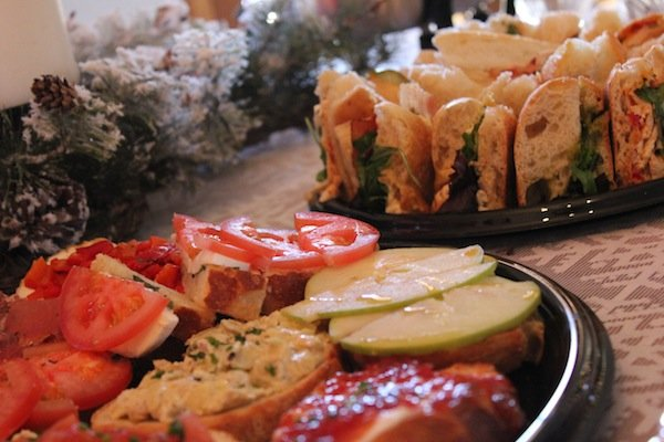 holiday party catering ideas postino's