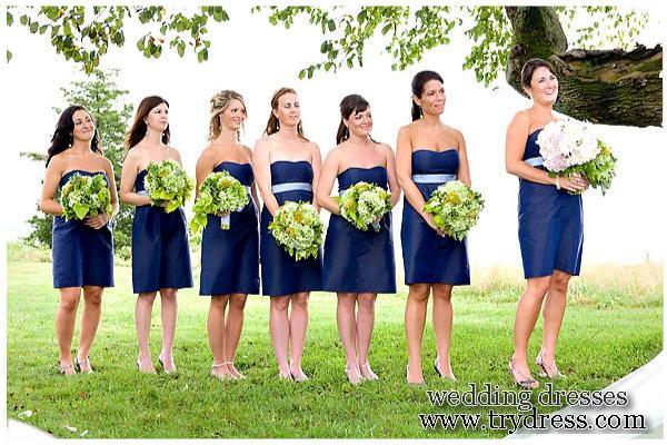 matching bridesmaid dresses