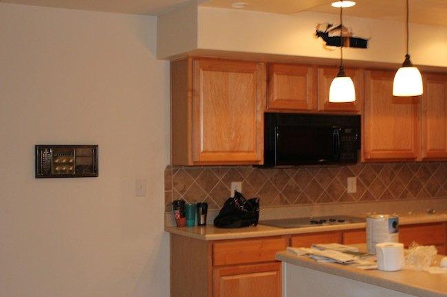 kitchen renovation before