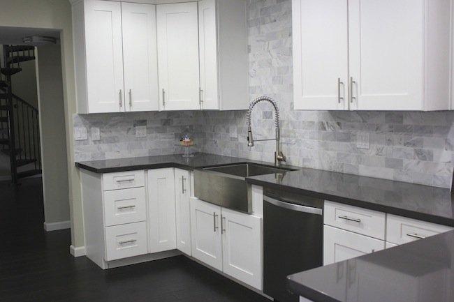 kitchen renovation after