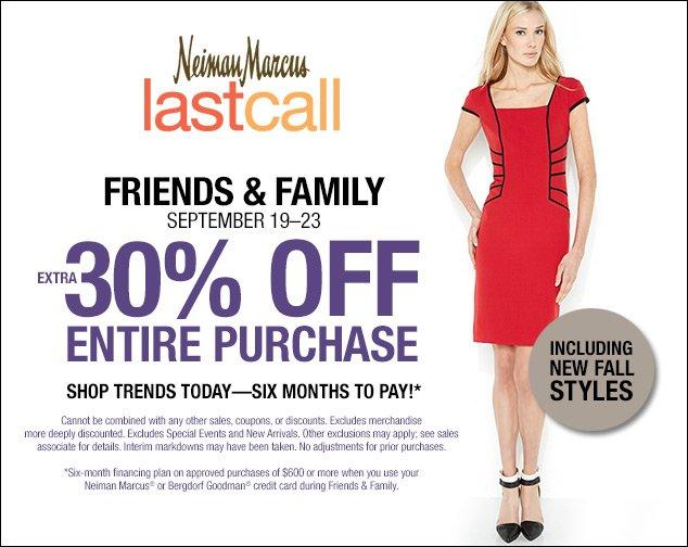 last-call friends family sale neiman marcus