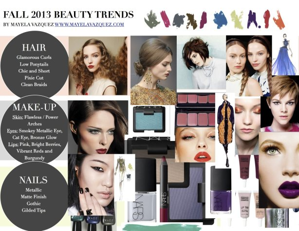 fall 2013 beauty trends mayela vazquez