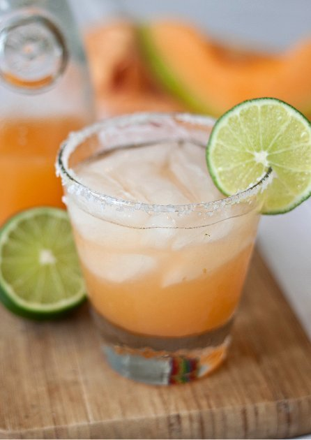 Cantaloupe Margarita recipe