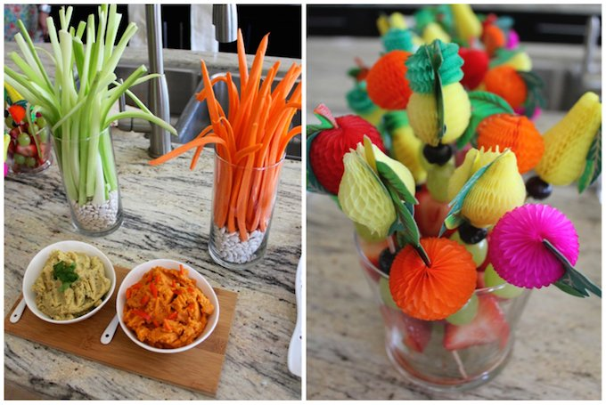 baby shower food decor ideas