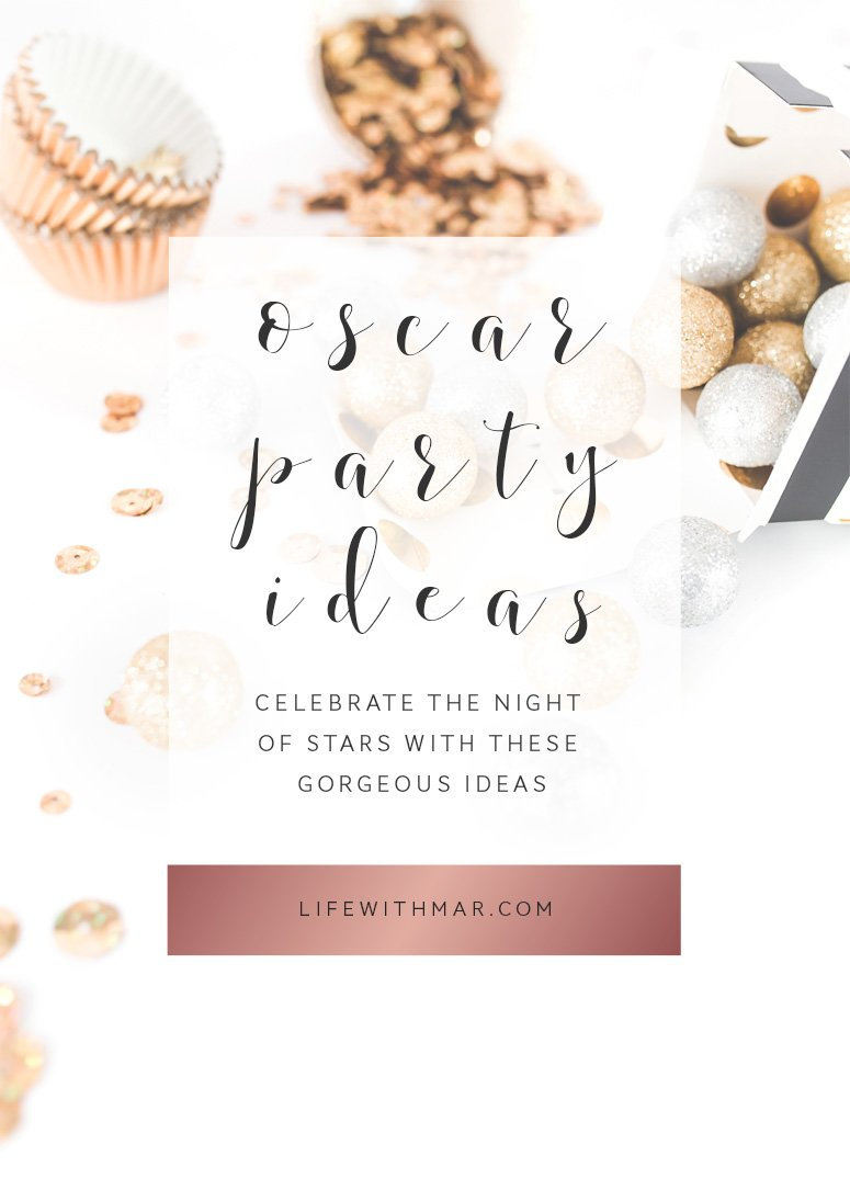 oscar party ideas, throw the perfect oscar party with these decor ideas! Click to see the inspiration