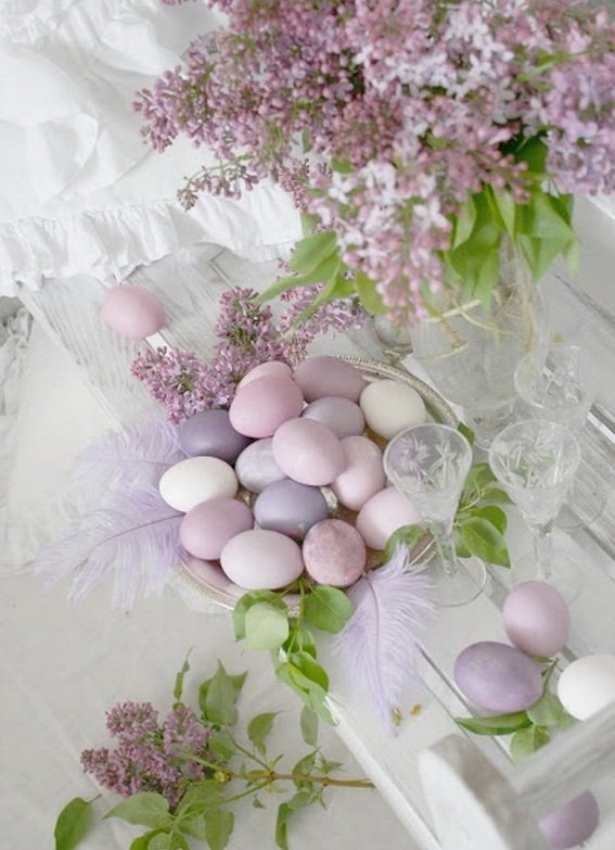 elegant easter tablescapes