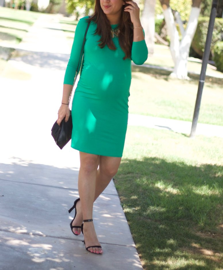 Cutest ASOS Maternity dress, on sale for $15!