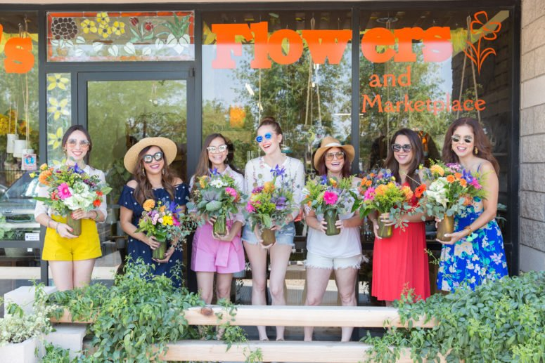 flower workshops bobbie's flowers tempe arizona