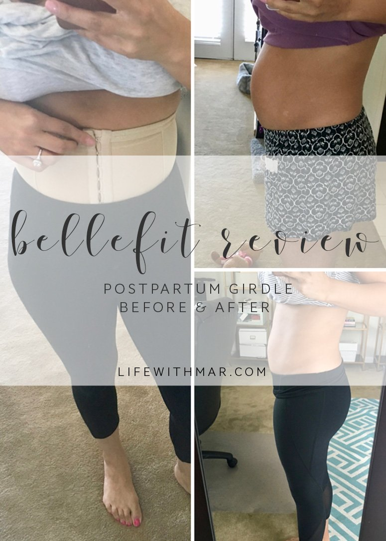d9461231bc An honest bellefit postpartum girdle review including before and after  transformation jpg 775x1085 Bellefit girdle before