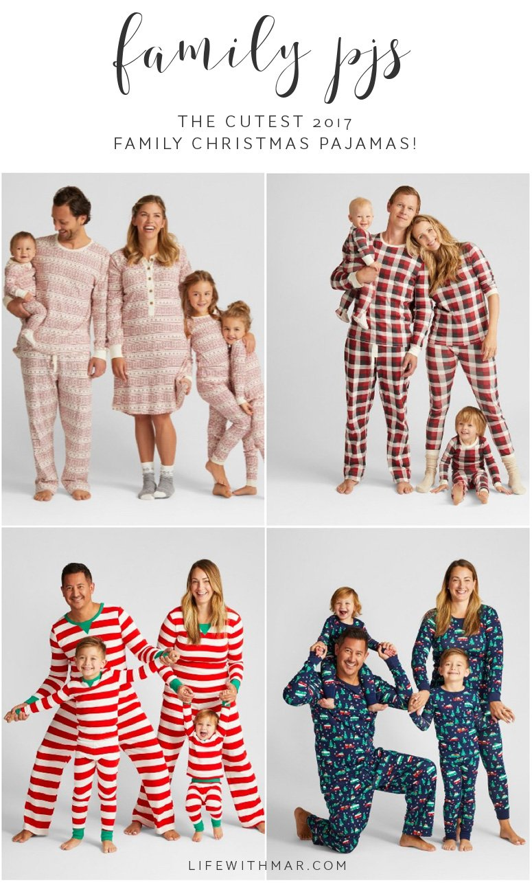 the cutest 2017 family christmas pajamas. These matching family pajamas are absolutely darling!