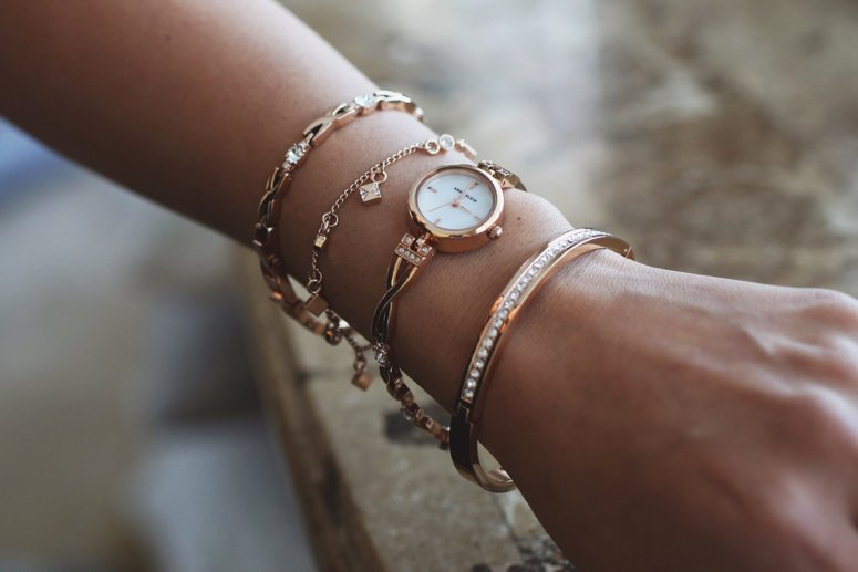 Easy bracelet stacking with anne klein watches