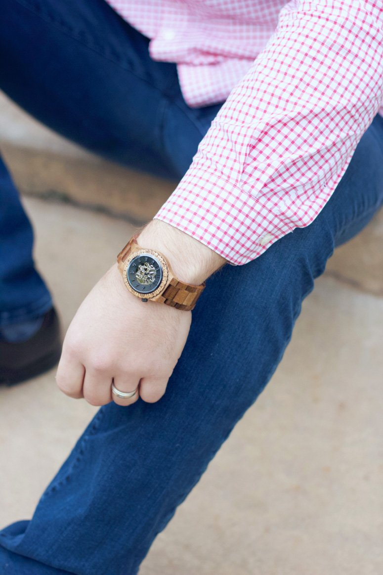 Jord wood watches for men, great 5th wedding anniversary gift idea! Get an exclusive discount code