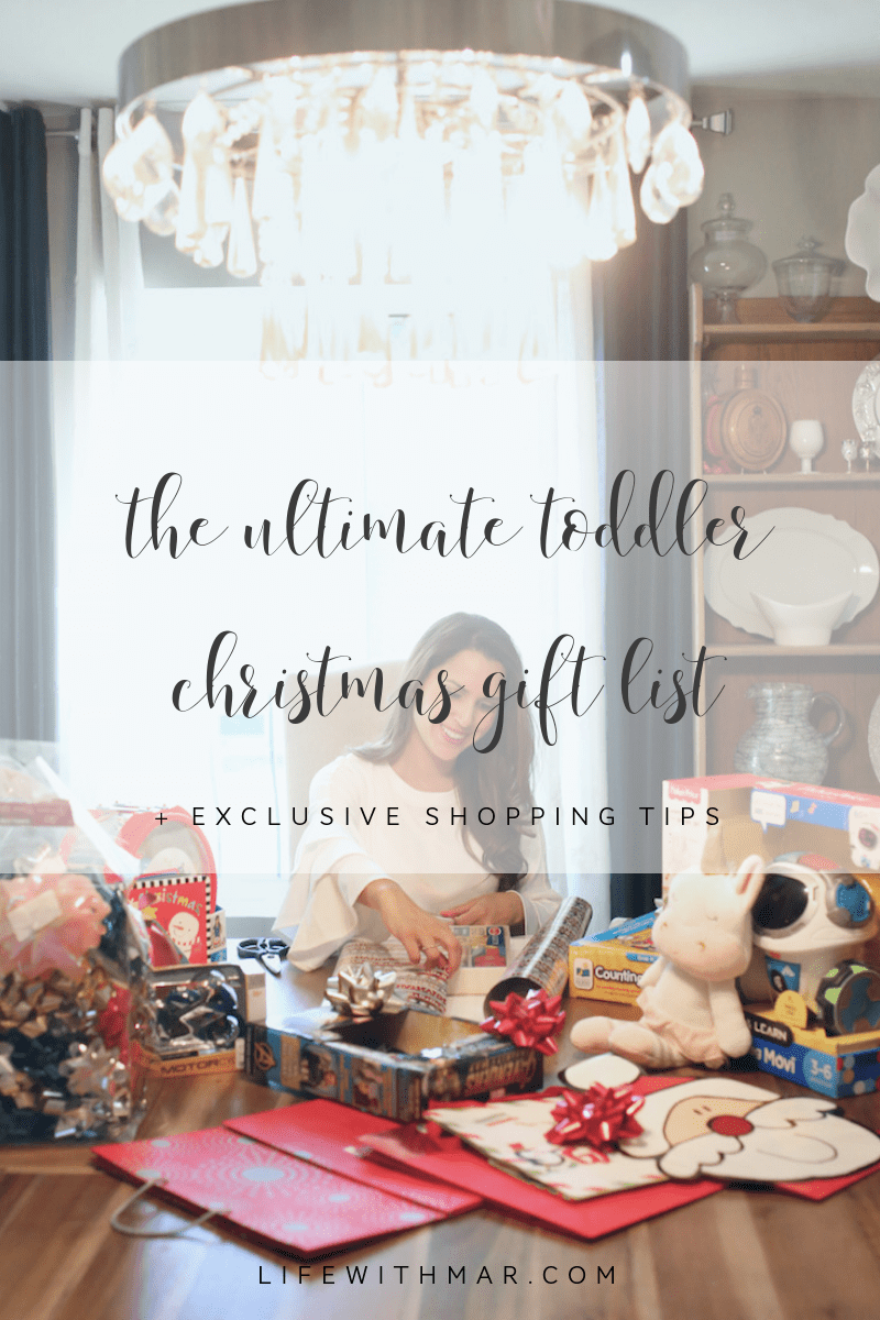 The Ultimate Toddler Christmas Gift List + Exclusive Shopping Tips!