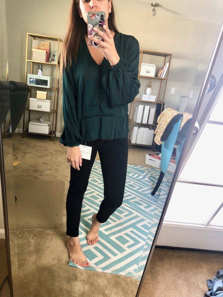 Trunk Club October Haul vince Camuto Top