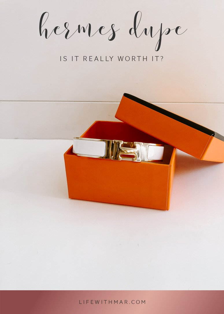 hermes bracelet dupe: is it really worth it? Check out the full review