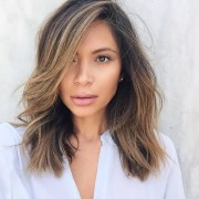 lob hair cut & color - life
