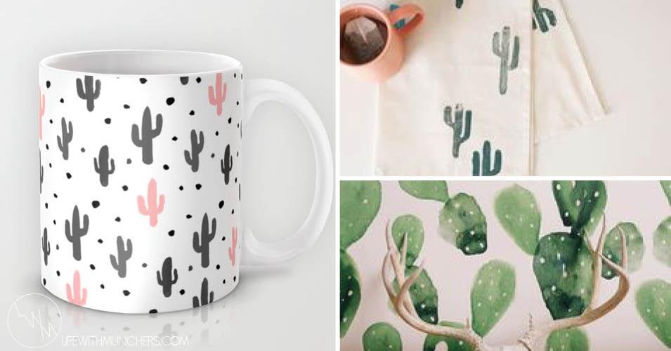 Cactus Home Decor Shop The Trend Family Home & Lifestyle Blog