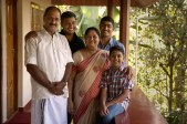 Meet the Joseph family. Tomy, a botanist, his wife Rajee and their three sons operate the Rose Gardens homestay in Munnar. One of the highlights of our stay was the guided tour of the family's working garden and property.