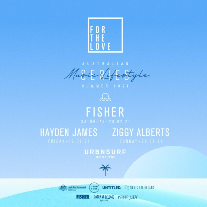 For The Love & URBNSURF Announce Music + Surfing Events w/ Fisher, Hayden James & Ziggy Alberts!, Ballin' on a Budget
