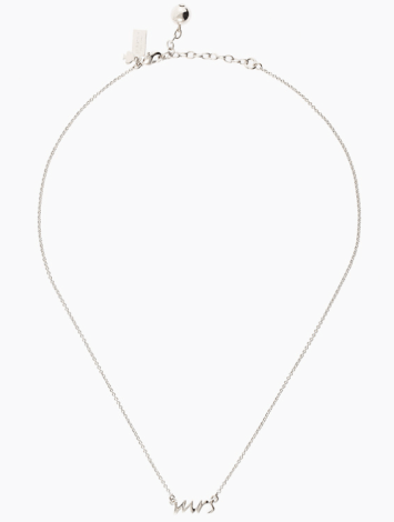 Kate Space Mrs Necklace $79 - Life Without Louboutins