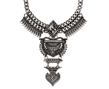 Target Statement Necklace - Life Without Louboutins