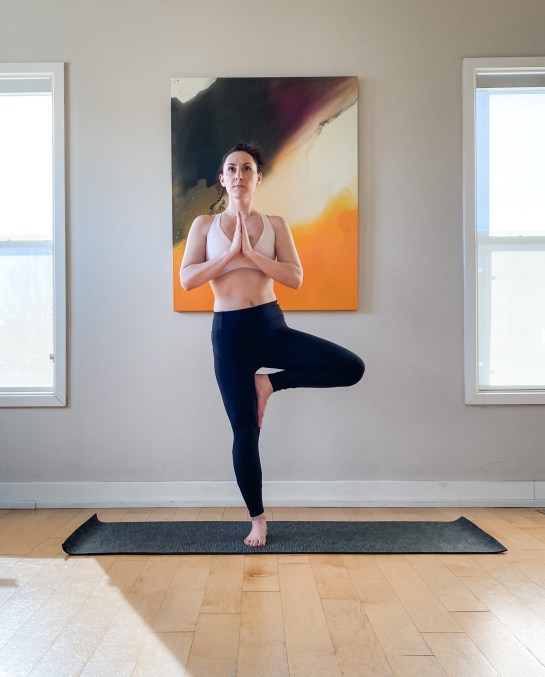 Yoga Pose - Tree Pose