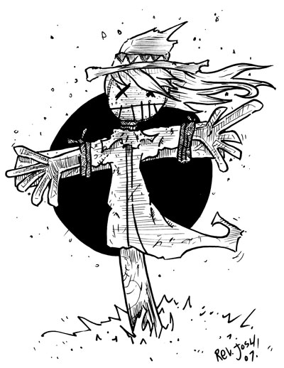 Life Without Taffy » Scarecrow