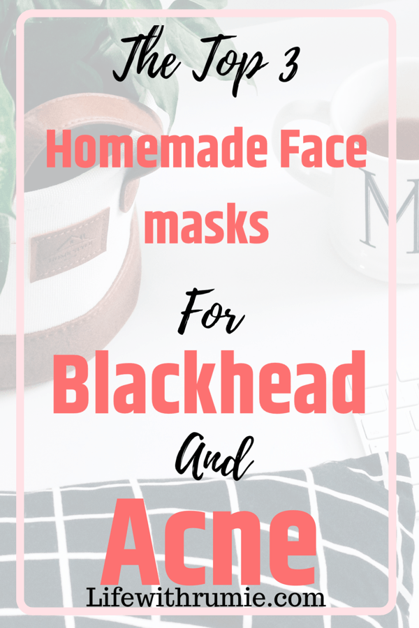 Homemade Face Masks For Blackhead And Acne That Actually
