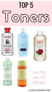 Top 5 toners for oily skin