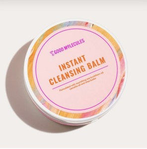 Good molecules instant cleansing balm