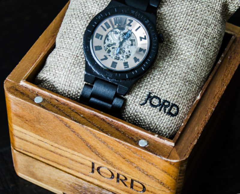 New Dad Gets Stylish JORD Watch for Collection