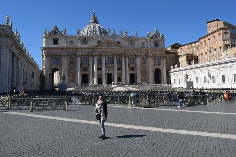 3 Days in Rome - St Peters Basicalla