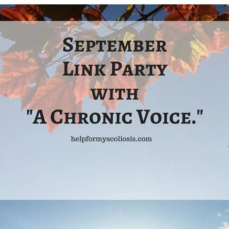 September Link Up with A Chronic Voice
