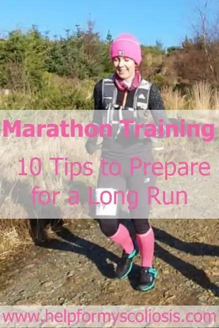Marathon Training - 10 tips for preparing for a long run