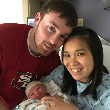 Bryan Vu-Danh Swank born on March 13, 2017 at 12:26 pm, weighing 6 lbs. 10 oz. and 19 inches long.