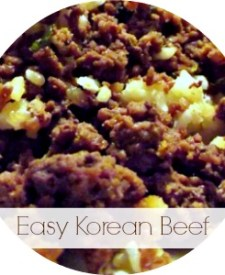 Easy Korean Beef
