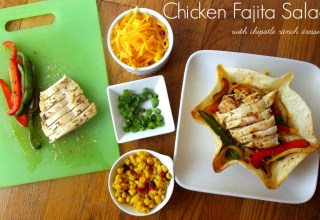 Chicken Fajita Salad #shop
