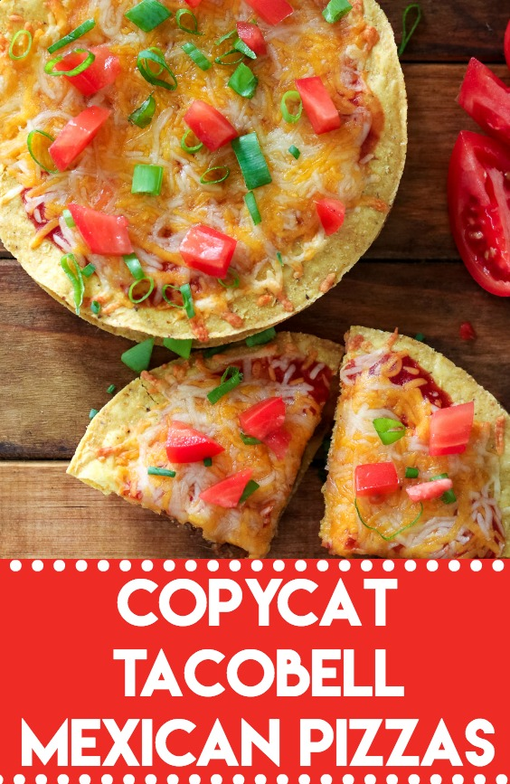 Copycat TacoBell Mexican Pizza lets you skip the drive thru and make this delicious favorite at home! I have the secret to making them taste just right!
