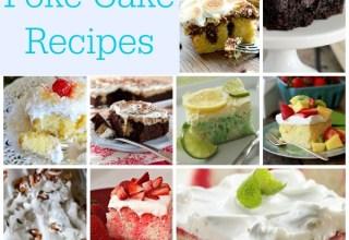 30 Incredible Poke Cake Recipes