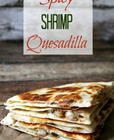 Spicy Shrimp Quesadilla