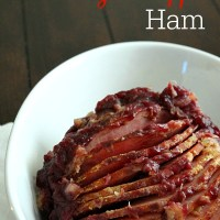 Slow Cooker Cranberry Pineapple Ham