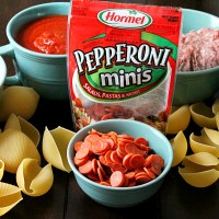 Hormel Pepperoni Pizza Stuffed Shells