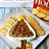 Holiday Entertaining with Salsa Verde Cream Cheese Dip