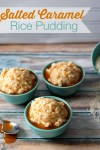 Salted Caramel Rice Pudding  #AmericasTea #CollectiveBias