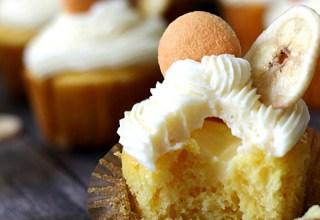 Banana Pudding Cupcake, yum!