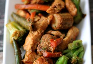 Velveted Chicken & Veggie Stir Fry