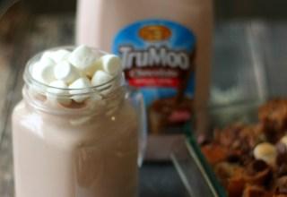 Delicious Hot Chocolate Bread Pudding